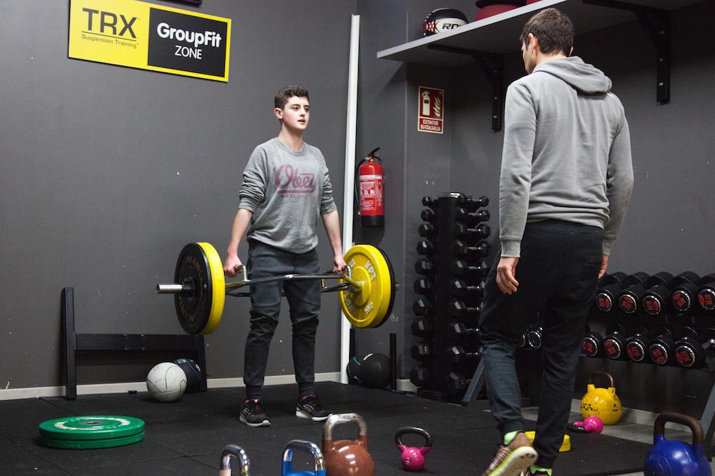 gimnasio entrenamiento funcional para adolescentes